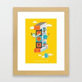 One minute Framed Art Print