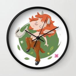 Faunus Wall Clock