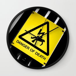 Danger of Death #2 | New Slant, Old Message Wall Clock