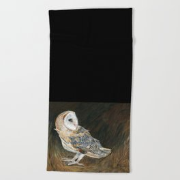 The Night Hunter by Teresa Thompson Beach Towel