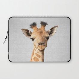 Baby Giraffe - Colorful Laptop Sleeve