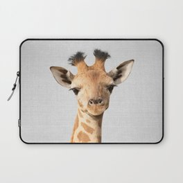 Baby Giraffe - Colorful Laptop Sleeve