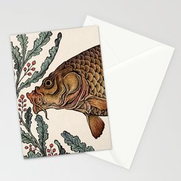 Carp in the Kelp Stationery Cards