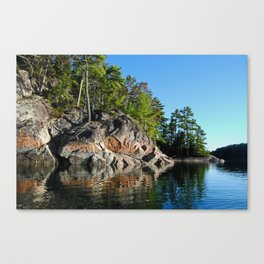 Reflections on the Sound Canvas Print