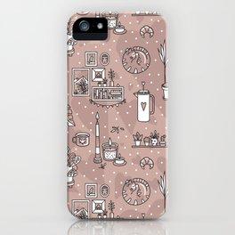 Cozy home iPhone Case