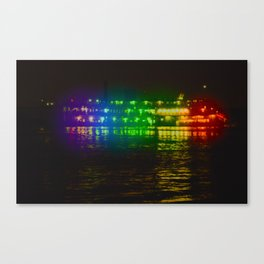 Steamboat Caterpillar Canvas Print