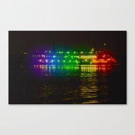 Steamboat Caterpillar Canvas Print