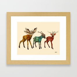 Babes in Woodland (Trio) Framed Art Print