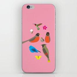 summer birds  iPhone Skin
