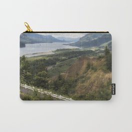 Flowers in the Columbia River Gorge Carry-All Pouch