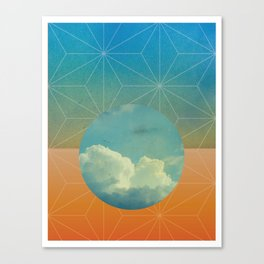 Moon Sphere Canvas Print