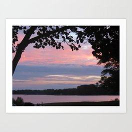 Sunset Collection Art Print