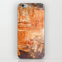 war iPhone & iPod Skins featuring War by Roquito