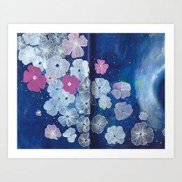 Celestial Blooms Art Print