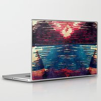 sweater Laptop & iPad Skins featuring Ugly Sweater by Cylena Young