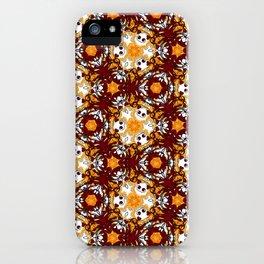 Burning Hearts iPhone Case
