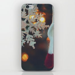 Snowflake Ornament iPhone Skin