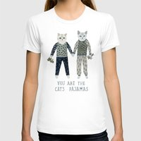 toddler T-shirts featuring You are the Cat's Pajamas by Yuliya