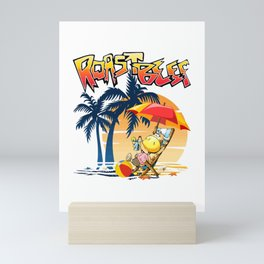 Roast beef Mini Art Print