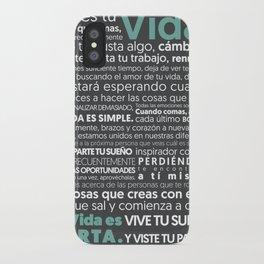 Es tu vida y Jota Torcida iPhone Case