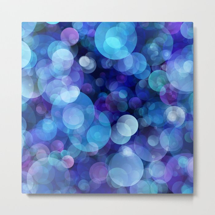 Bubbles005_by_JAMFoto Metal Print
