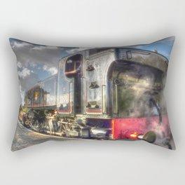 Steam Locomotive 1501 at Bewdley Rectangular Pillow