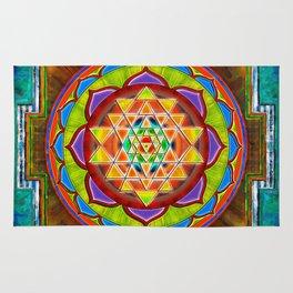 Intuition Sri Yantra II Rug