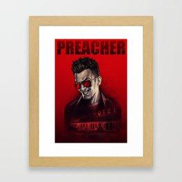 Preacher: Cassidy poster Framed Art Print