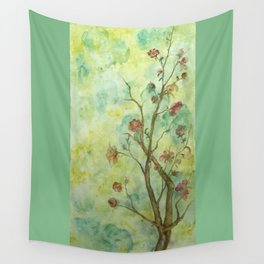 Branch with flowers Wall Tapestry