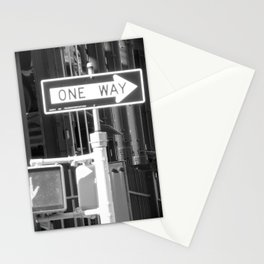 One Way Only Stationery Cards
