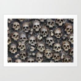 Skull Rug 2x3 Art Print