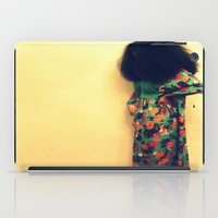 afro iPad Cases featuring Afro by 2sweet4words Designs