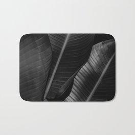 Banana leaf allure - night Bath Mat