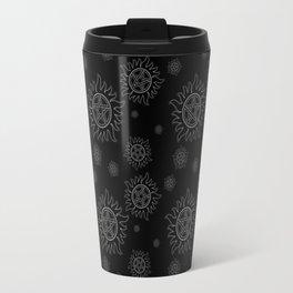 Anti Possesion Pattern White Glow Travel Mug