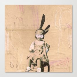 Imaginary Friends- Magician Canvas Print