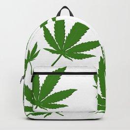 Weed Leaf Backpack