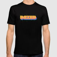 Dazed Black X-LARGE Mens Fitted Tee