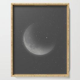 Lunar Portrait Serving Tray