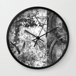 As Time Flies it Dissolves  Wall Clock