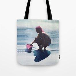 Le seau rose Tote Bag