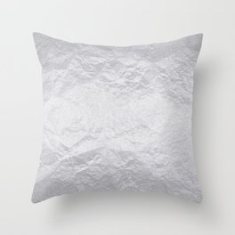 Cement Wall Throw Pillow