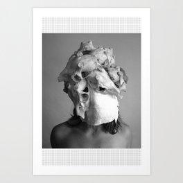 Memento Mori Skull Art Print