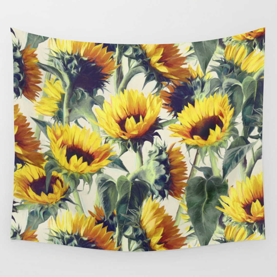 Nature and Painting Wall Tapestries | Society6