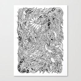 Psychwaves Canvas Print