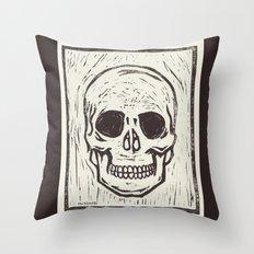 Skullduggery Throw Pillow
