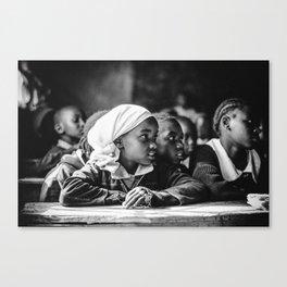 Kenyan Schoolchild Three Canvas Print