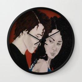 Thia and Chi 1 Wall Clock
