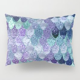 SUMMER MERMAID  Purple & Mint by Monika Strigel Pillow Sham