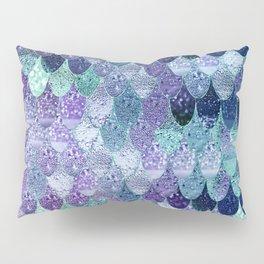SUMMER MERMAID  Purple & Mint by Monika Strigel Pillow Sham