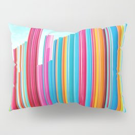 Colorful Rainbow Pipes Pillow Sham